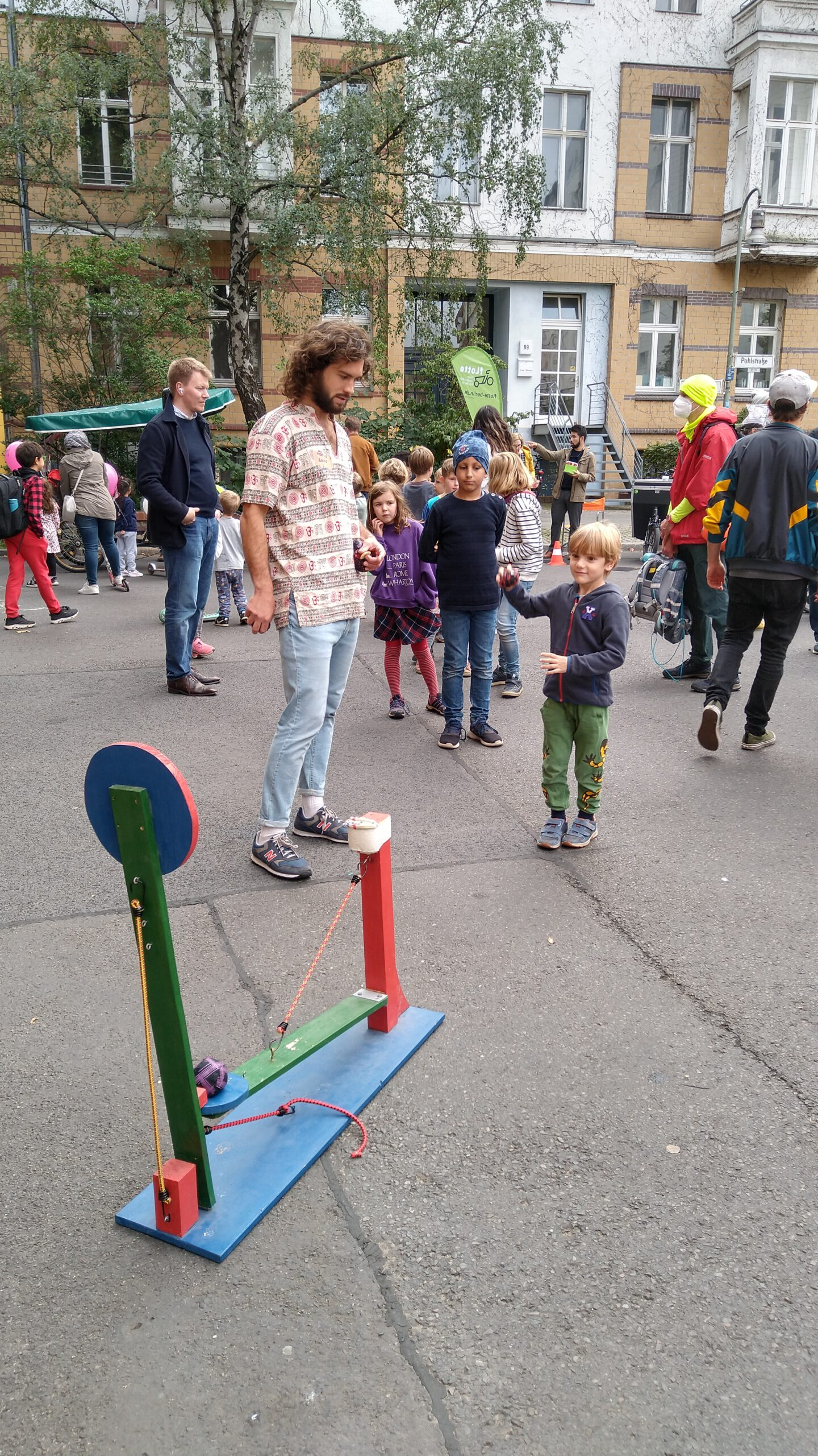Straßenfest Pohlstr.